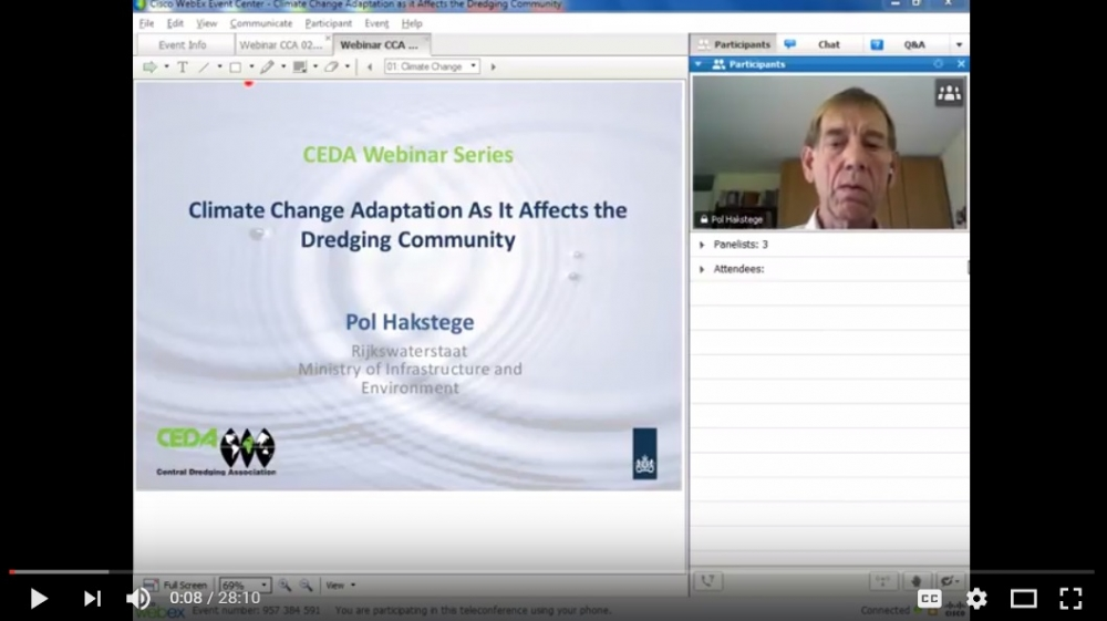 Webinar: Adaptation as it Affects the Dredging Community