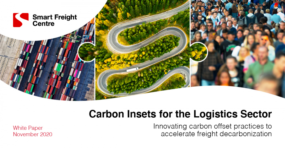 Smart Freight Centre and Deutsche Post DHL Group call for carbon insetting to accelerate decarbonization of global freight transportation