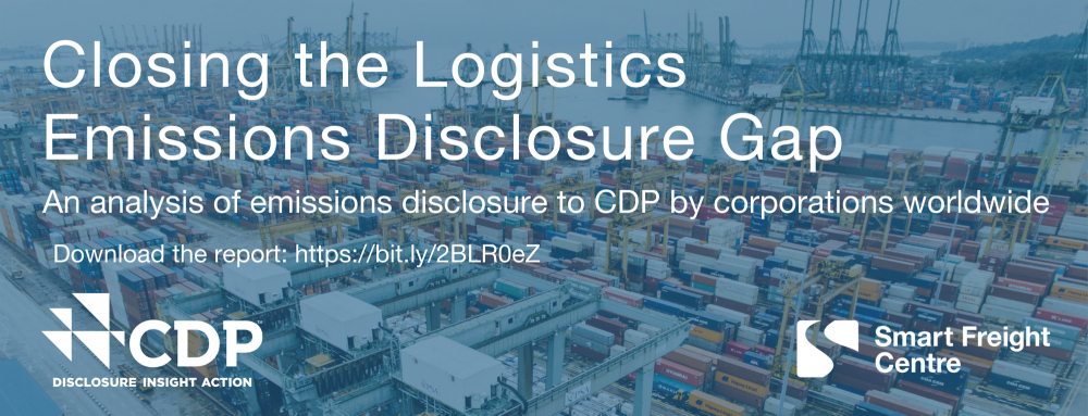 Closing the Logistics Emissions Disclosure Gap: An analysis of emissions disclosure to CDP by corporations worldwide