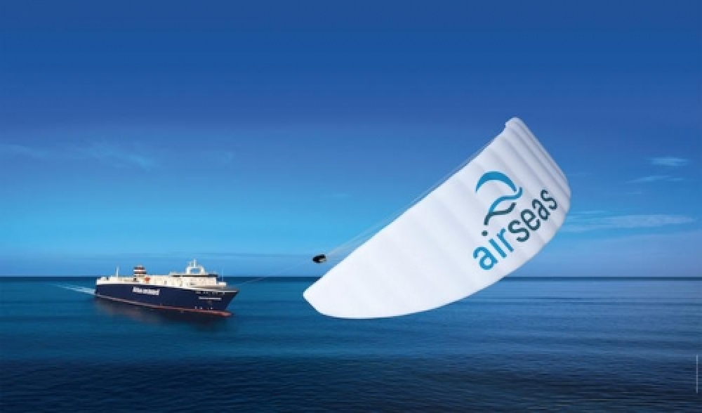 Airbus orders automated kite for ro-ro vessel