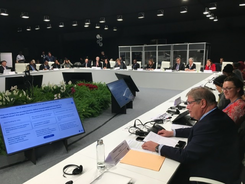 PIANC Climate Change Declaration launched at COP25 in Madrid
